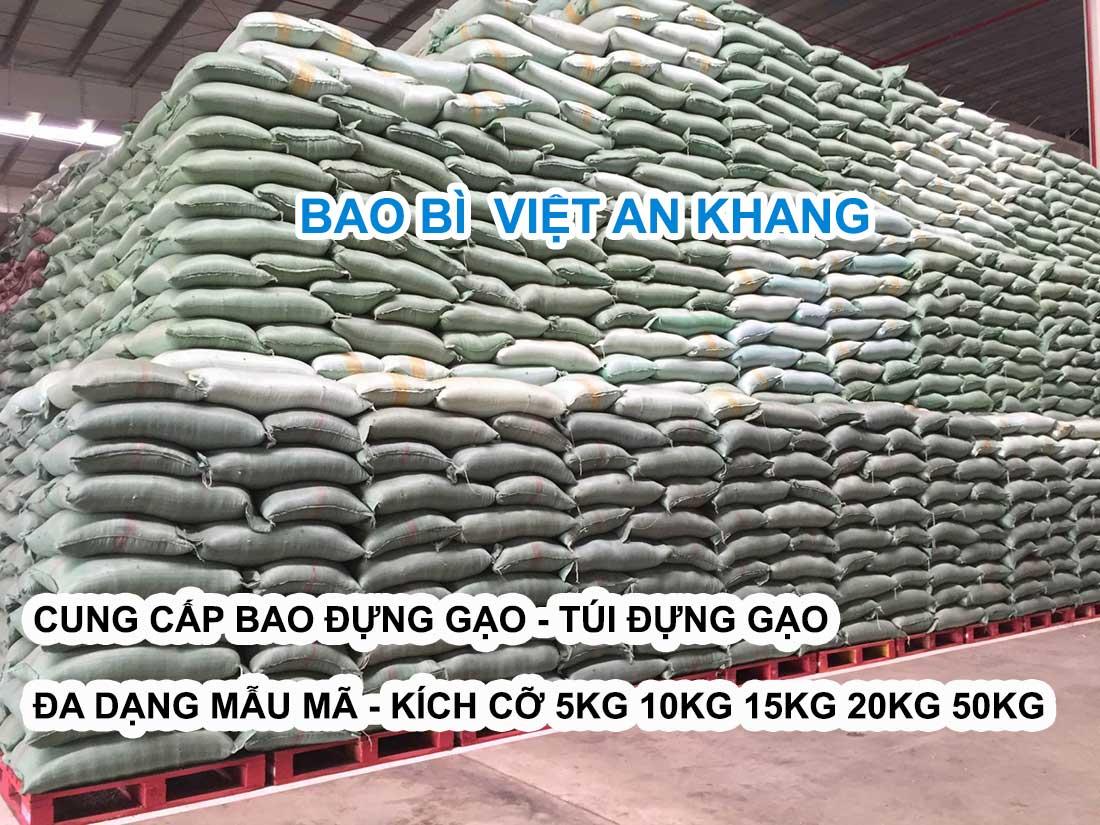 Việt an khang cung cấp bao đựng gạo đa dạng nhiều mẫu mã kích thước